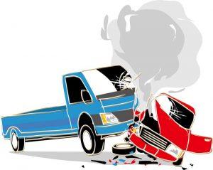 交通事故(参考画像)