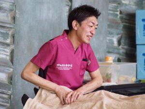 熊本での施術(古賀)